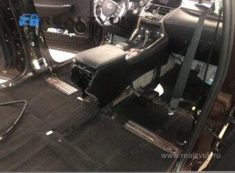 Шумоизоляция пола Lexus RX