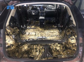 Пол Lexus RX