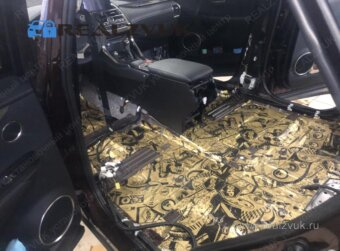 Вибраизоляция пола Lexus RX