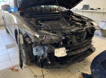 Сетка в бампер для Mazda CX5