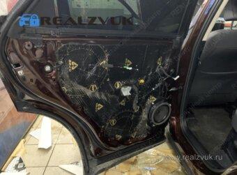 Шумоизоляция дверей Lexus