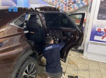 Lexus RX шумоизоляция дверей