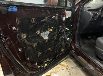 Lexus шумоизоляция дверей