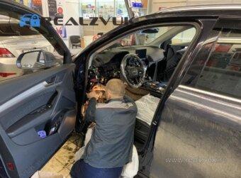 Установка на Audi Q5 сигнализации