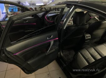 Контурная подсветка Nissan Teana