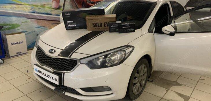 Автозвук Kia Cerato