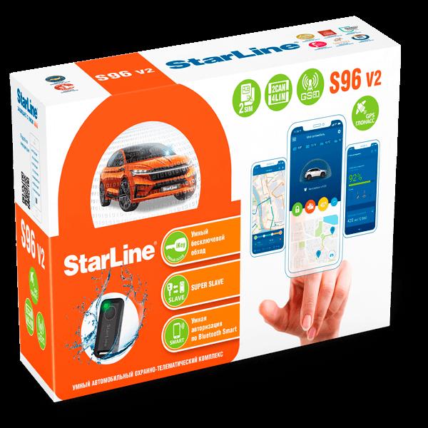 S96 v2 2CAN+4LIN 2SIM GSM GPS