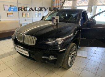 Pandora с запуском на BMW X6